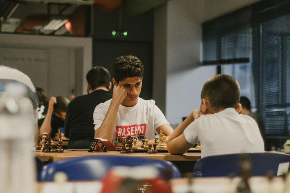 4ος γύρος στο 1o Διεθνές Τουρνουά Σκάκι Βόλου