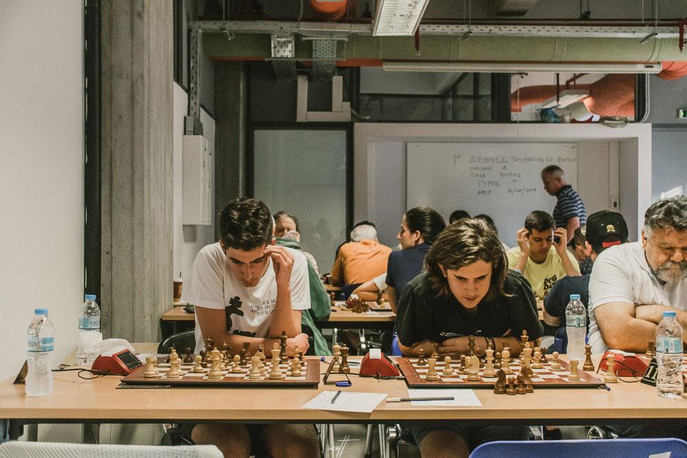 5ος γύρος στο 1o Διεθνές Τουρνουά Σκάκι Βόλου