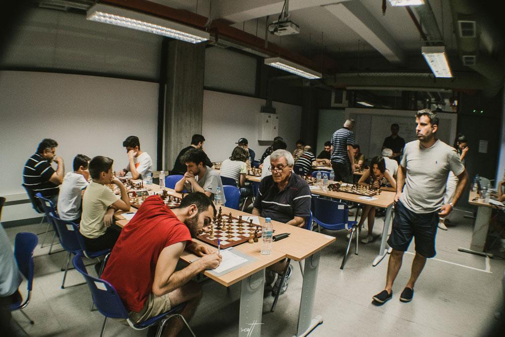 6ος γύρος στο 1o Διεθνές Τουρνουά Σκάκι Βόλου